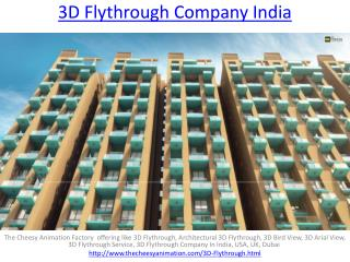 3D Flythrough Company