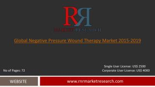 Negative Pressure Wound Therapy Market 2015 – 2019: Worldwide Forecasts and Analysis