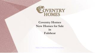 Find Best New Homes in Fulshear TX