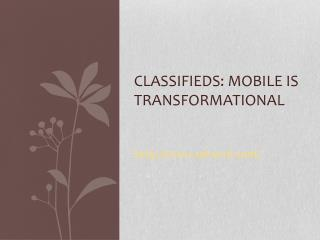 Mobile is Transformational