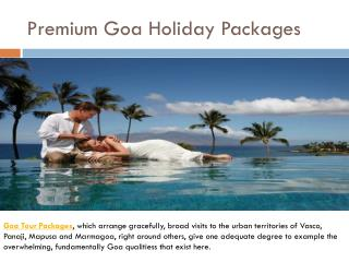 Premium Goa Holiday Packages