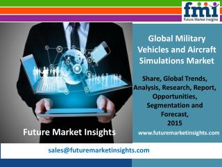 Recent trends Military Vehicles and Aircraft Simulations Market, 2015-2025, by FMI