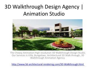 3D Walkthrough Design Agency | Animation Studio