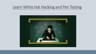 Learn Ethical Hacking & Pen Testing Online! Just $99! Redeem Coupon Code & avail 70% OFF! Enroll Now