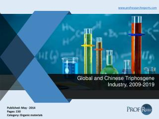 Triphosgene Industry Growth, Market Share 2009-2019 | Prof Research Reports