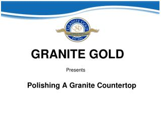 Polishing A Granite Countertop