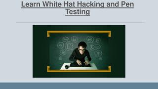 Learn Ethical Hacking and Pen Testing Online! Enroll Now! Use Coupon Code to avail 70% OFF!!