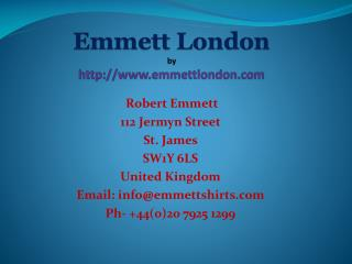 london shirtmaker