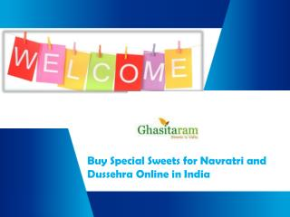Buy and Send Sweets for Navratri Online in India