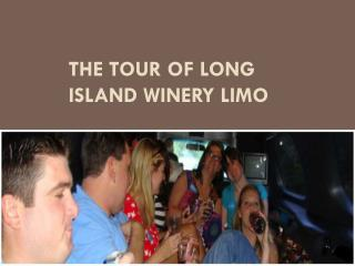 The Tour of Long Island Winery Limo