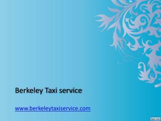Taxi in berkeley