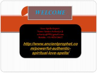Powerful Authentic Spiritual Love Spells, 9878120627