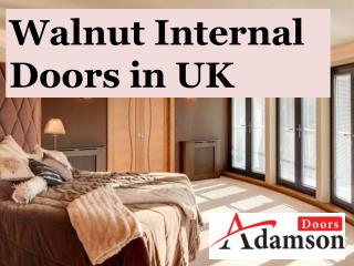 Walnut Internal Doors in UK