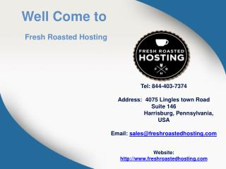 Premium Hosting Services - Fresh Roasted Hosting