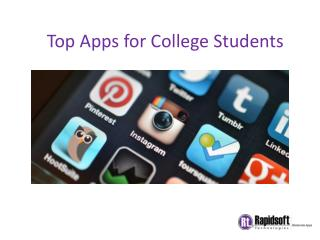 Top Apps for College Students