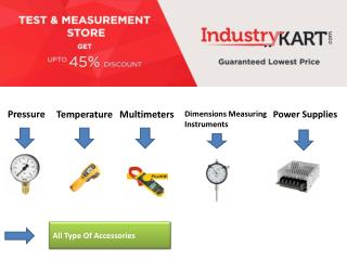 Buy Testing and Measuring Instruments at Best Price - Industrykart.com