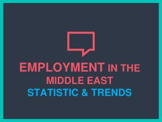Dubai Middle East Job Stats