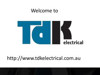 Electrical Contractors Sydney