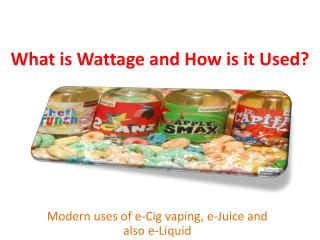 What is Wattage and How is it Used?