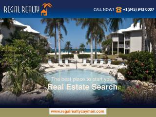 Your one stop solution for buying and selling real estate properties in the Cayman Islands.