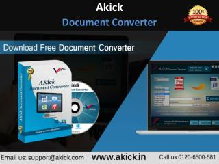 AKick - Free Document Converter | Word To PDF Converter