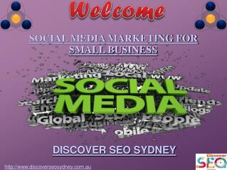 Social Media Marketing for Small Business | Discover SEO Sydney