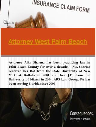 Misdemeanor Attorney West Palm Beach