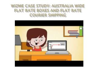 WizMe Case Study: Australia Wide Flat Rate Boxes and Flat Rate Courier Shipping