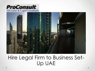Legal Business Setup Firm