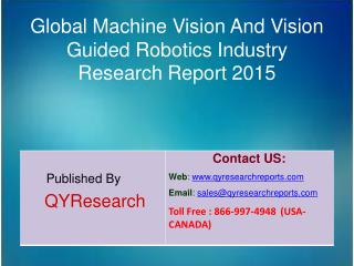 Global Machine Vision And Vision Guided Robotics Market 2015 Industry Growth, Development and Analysis