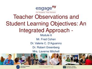 Teacher Observations and Student Learning Objectives: An Integrated Approach -