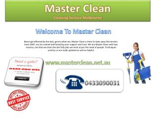 Master Clean | Vacate Cleaning Company Melbourne