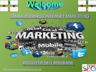 Small Business Internet Marketing | Discover SEO Brisbane