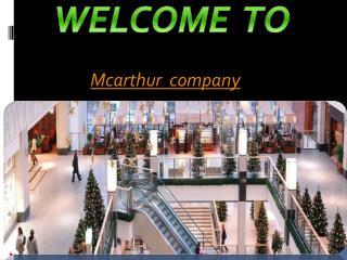Shopping centre assets management