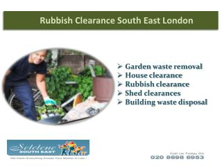 Rubbish Clearance in South East London