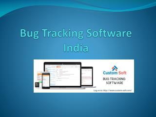 Customized Bug Tracking Software
