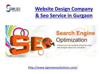 Website design company & seo service in gurgaon