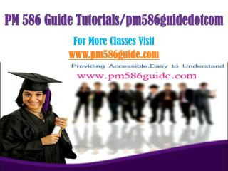PM 586 Guide Peer Educator/pm586guidedotcom