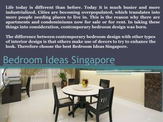 bedroom design Singapore