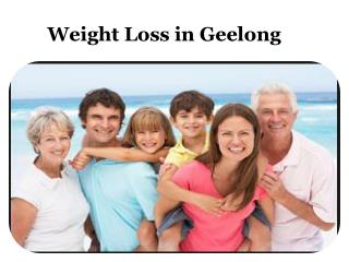 Weight Loss Geelong