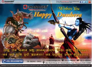 Q-Manager wishes you and your family a very Happy Dussehra