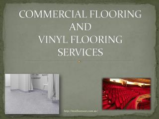 commecial flooring and vinyl flooring