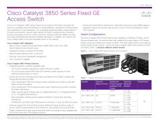 Cisco Catalyst 3850 Series Fixed GE Access Switch.pdf Uploaded Successfully