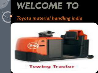 Material Handling Equipment Manufacturers India