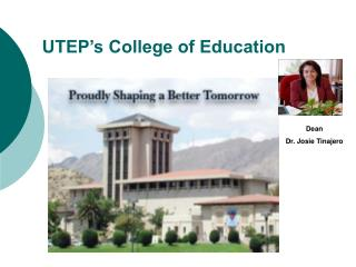 UTEP s College of Education