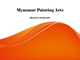 Myanmar painting arts