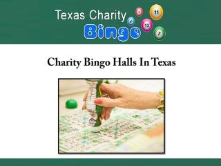 Charity Bingo Halls In Texas