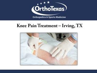 Knee Pain Treatment – Irving, TX