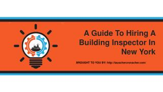 A Guide To Hiring A Building Inspector In New York