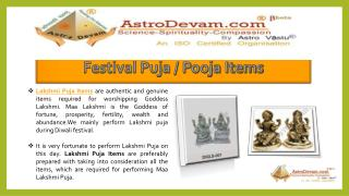 Get Free Gifts on purchase of Diwali Puja Items